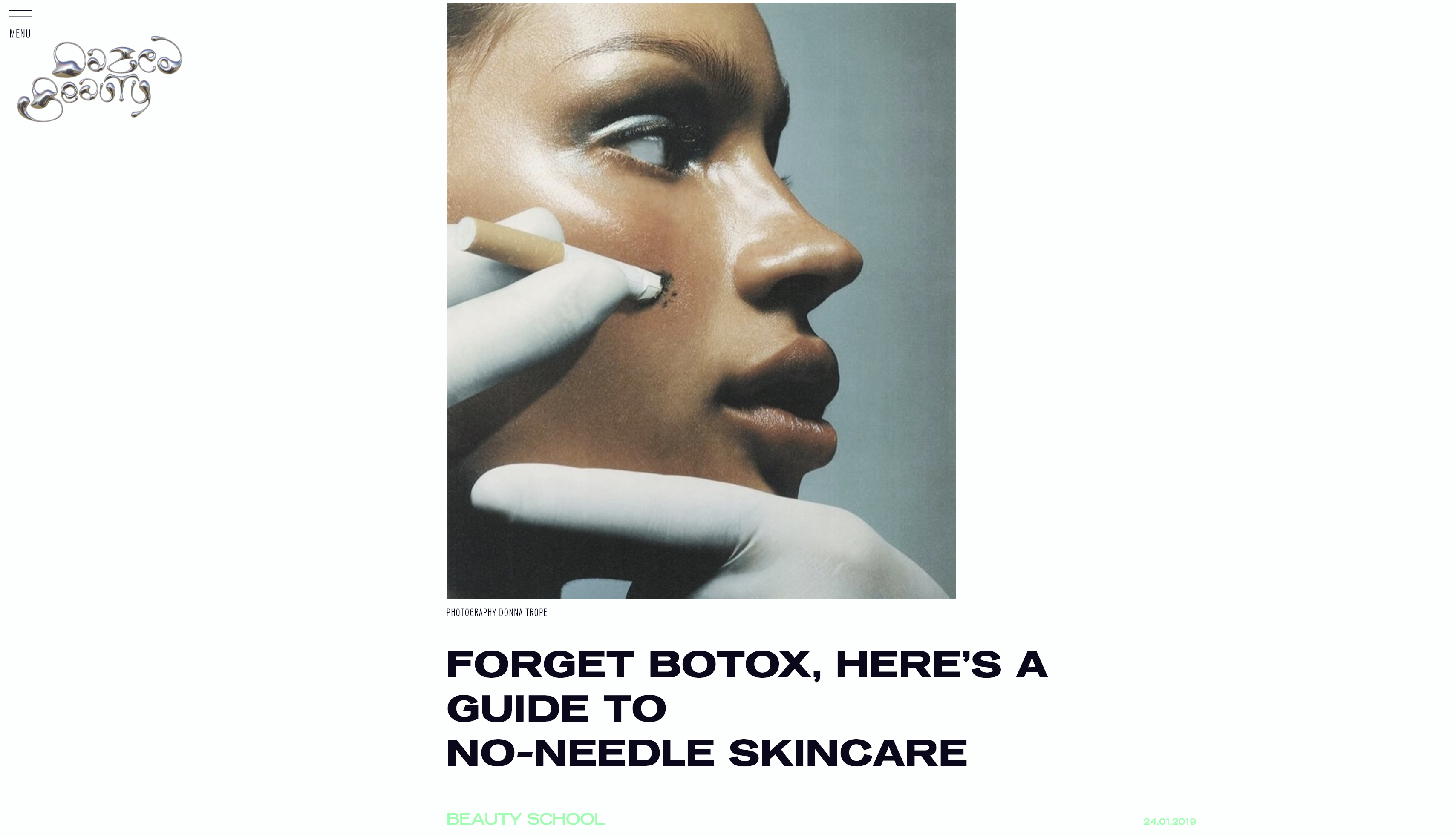 Forget Botox, Here's a Guide to No-Needle Skincare - Meder