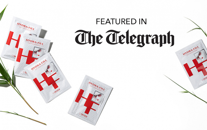 Hydra-Fill Mask is featured in the Telegraph